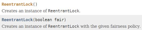 ReentrantLock构造声明